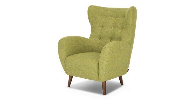 Mod Mid-Century Modern Armchair Green
