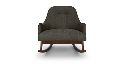 Embrace Fabric Rocking Chair Black Pepper