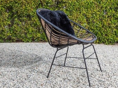 Article Luna Outdoor Lounge Chair Black (Set of 2)