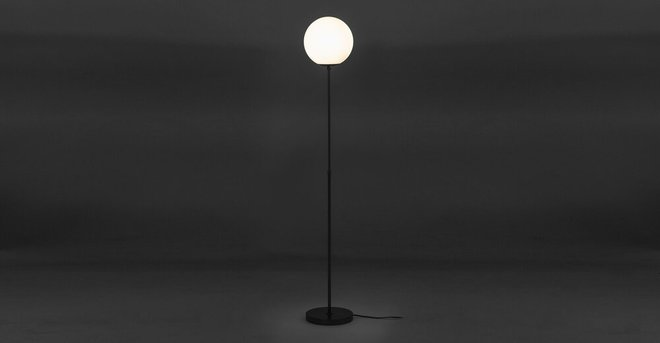 Moon Floor Lamp Gunmetal