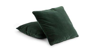 Lucca Velvet Pillow Balsam Green (Set Of 2)