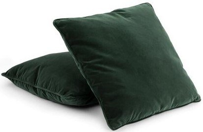 Article Lucca Velvet Pillow Balsam Green (Set Of 2)