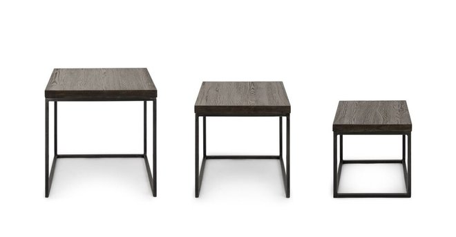 Taiga Nesting Tables Smoke
