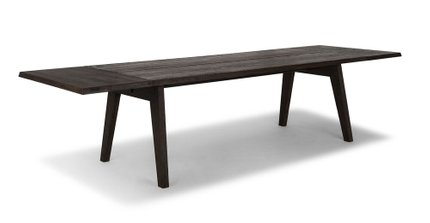 Article Madera Dining Table Extendable Smoke