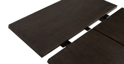 Madera Dining Table Extendable Smoke
