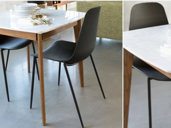 Article Svelti Contemporary Dining Chair Black (Set of 2)