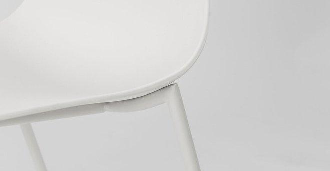 Svelti Contemporary Dining Chair White (Set of 2)