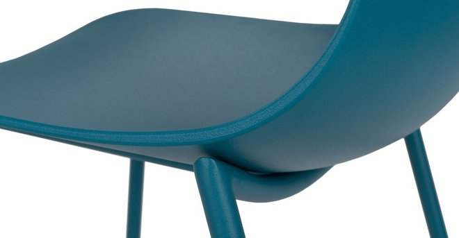 Svelti Contemporary Dining Chair Teal (Set of 2)