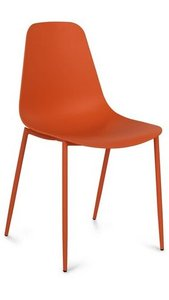 Article Svelti Contemporary Dining Chair Orange (Set of 2)
