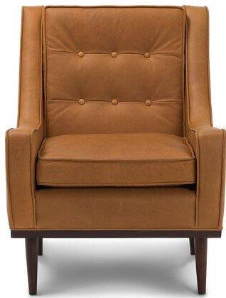 Article Nina Mid-Century Modern Arm Chair Charme Tan
