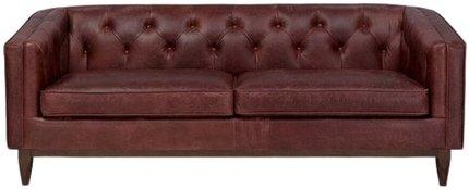 Article Alcott Modern Leather Sofa Oxblood