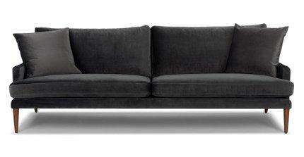 Luxu Mid-Century Modern Sofa mica Gray