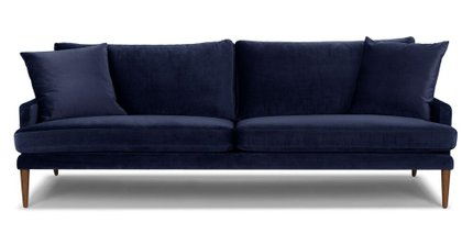 Luxu Mid-Century Modern Sofa nightshade Blue
