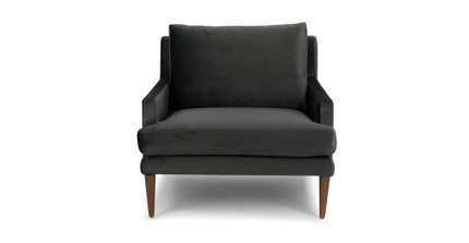 Luxu Lounge Chair Mica Gray