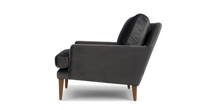 Luxu Lounge Chair Mica Gray