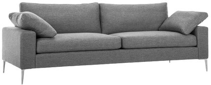Article Nova Modern Contemporary Sofa Gravel Gray
