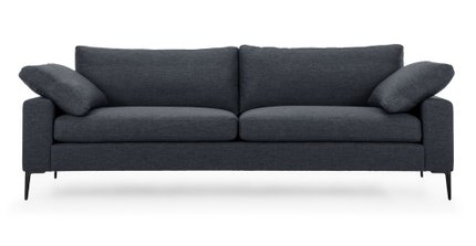 Nova Modern Contemporary Sofa Bard Gray
