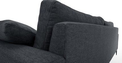 Nova Modern Contemporary Sofa Bard Gray