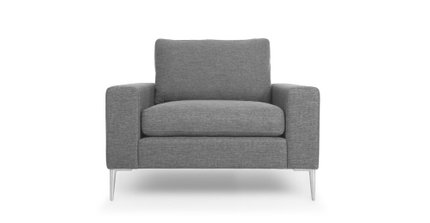 Nova Lounge Chair Gravel Gray