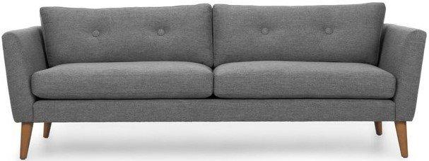 Article Emil Mid-Century Modern Sofa Gravel Gray