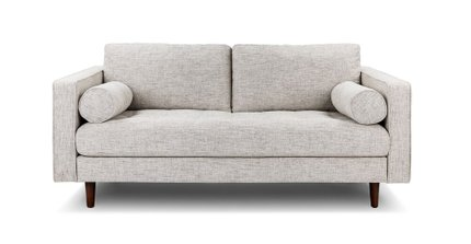 Sven Loveseat Birch Ivory