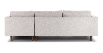 Sven Right Sectional Sofa Birch Ivory