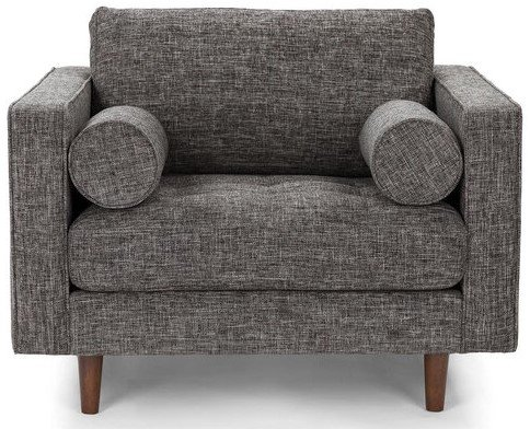 Article Sven Tufted Fabric Chair Briar Gray