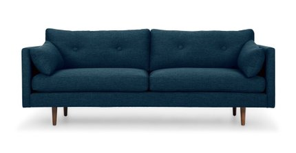 Anton Twilight Sofa Blue