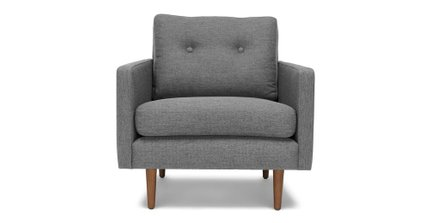Noah Lounge Chair Gravel Gray