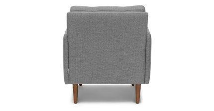 Noah Lounge Chair Gravel Gray