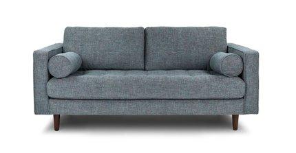 Sven Mid-Century Modern Sofa Tweed