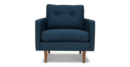 Noah Lounge Chair Twilight Blue