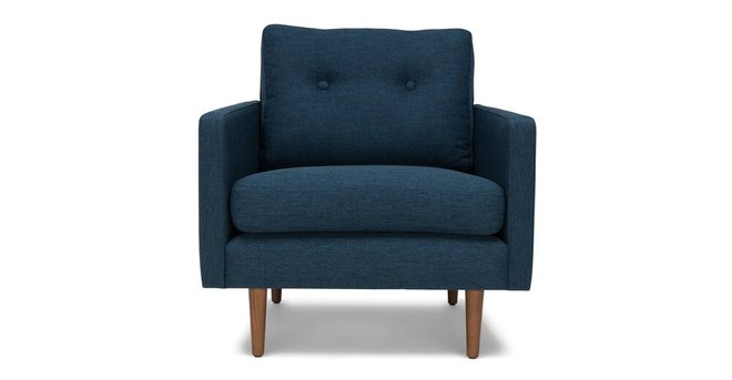 Noah Lounge Chair Twilight Blue