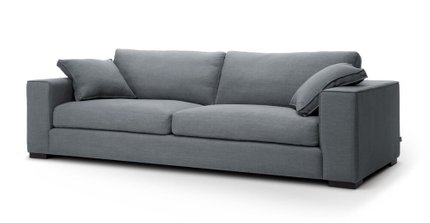Sitka Modern Contemporary Sofa Gray