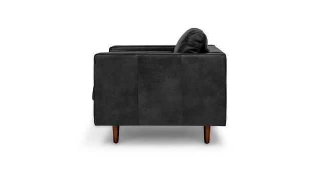 Surprising Sven Mid Century Modern Tufted Chair Oxford Black Ibusinesslaw Wood Chair Design Ideas Ibusinesslaworg