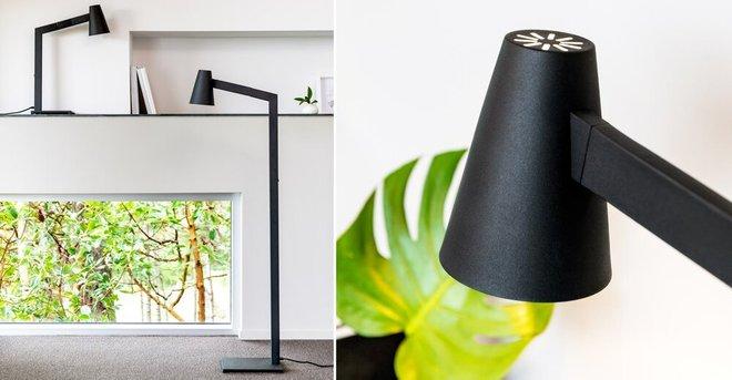 Article Axis Floor Lamp Black