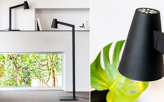 Article Axis Table Lamp Black