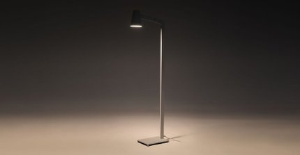Axis Floor Lamp White