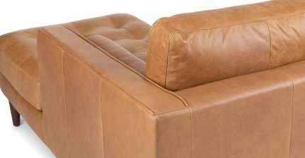 Sven Right Sectional Sofa Charme Tan