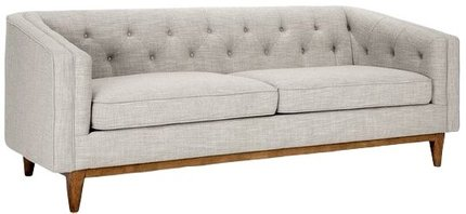 Article Alcott Modern Sofa Rain Cloud Gray
