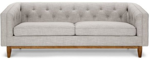 Article Alcott Modern Sofa Rain Cloud Gray