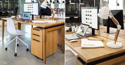 Madera 71 Desk Oak
