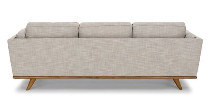 Timber Mid-Century Modern Sofa Gray