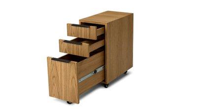 Madera File Cabinet Rustic Oak