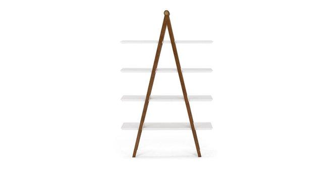 Article Caliper Mid Century Modern Shelf Light Walnut