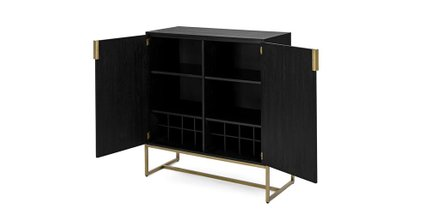 Oscuro Cabinet Black
