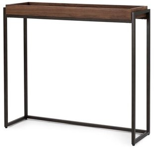 Article Oscuro Contemporary Console Table Walnut