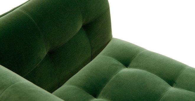 Cirrus Mid-Century Modern Sofa Grass Green