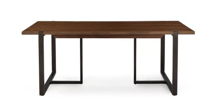 "Oscuro 78"" Dining Table Walnut"