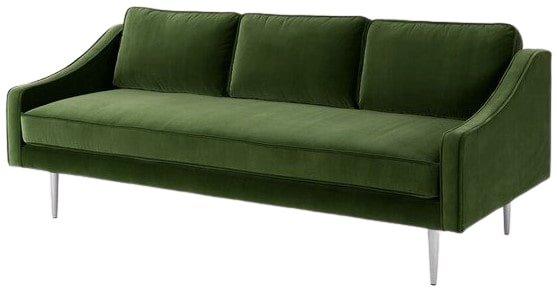 Article Mirage Contemporary Sofa Grass Green